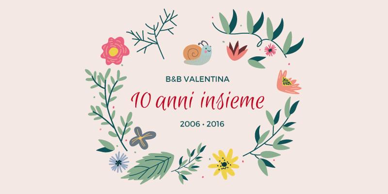 10 anni insieme - Valentina B&B Bed & Breakfast - Murialdo Savona